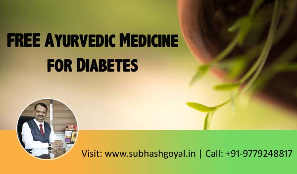 FREE Ayurvedic Medicine for Diabetes